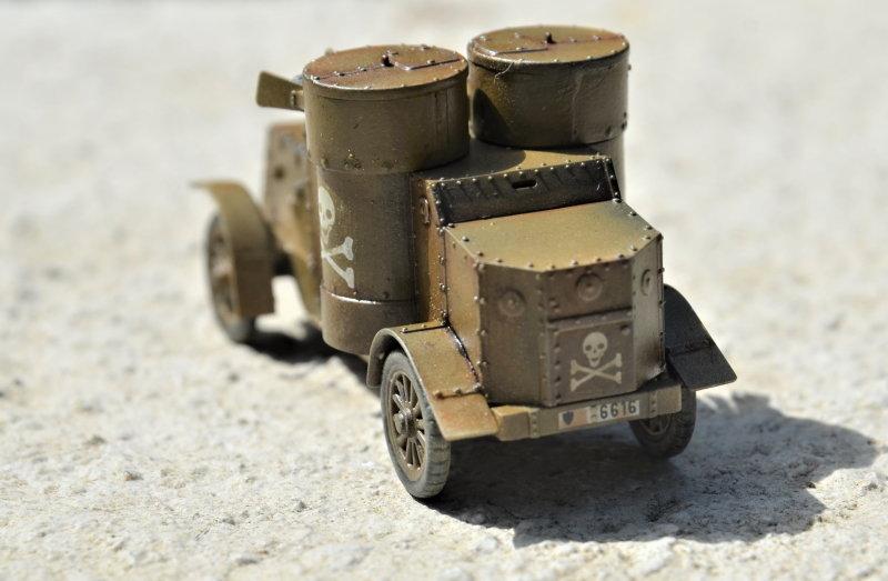 British Armoured Car - Austin MK III - Master Box - 1:72 200802052959171322