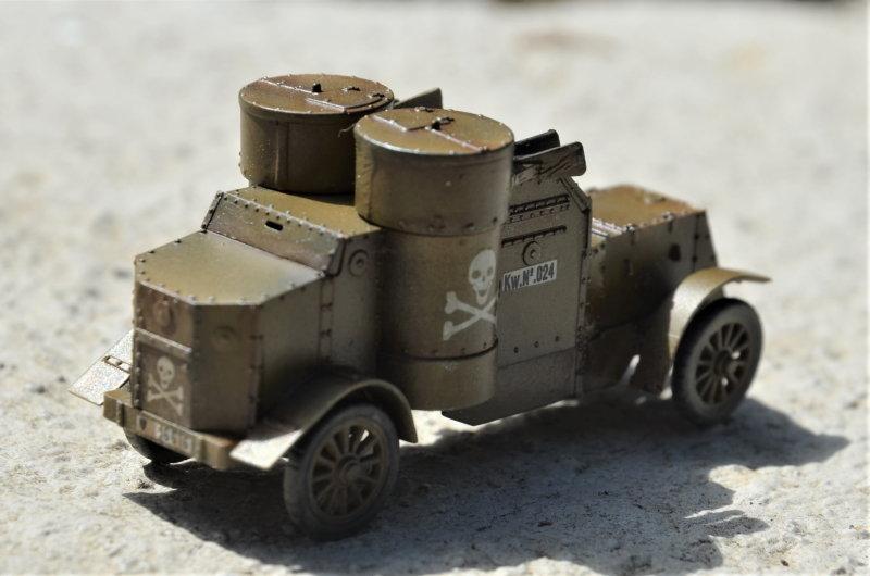 British Armoured Car - Austin MK III - Master Box - 1:72 200802052959434070