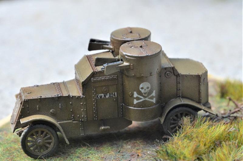 British Armoured Car - Austin MK III - Master Box - 1:72 200802053000216699