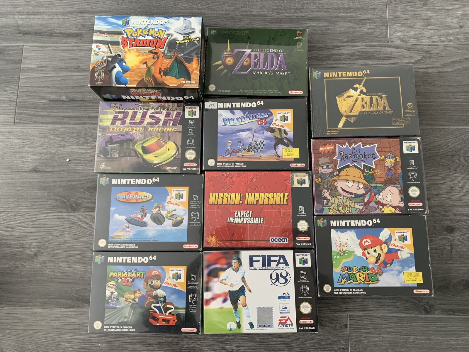 [VENDUE] Ma Collection complète de jeux N64 en boite complète  200809052922775185
