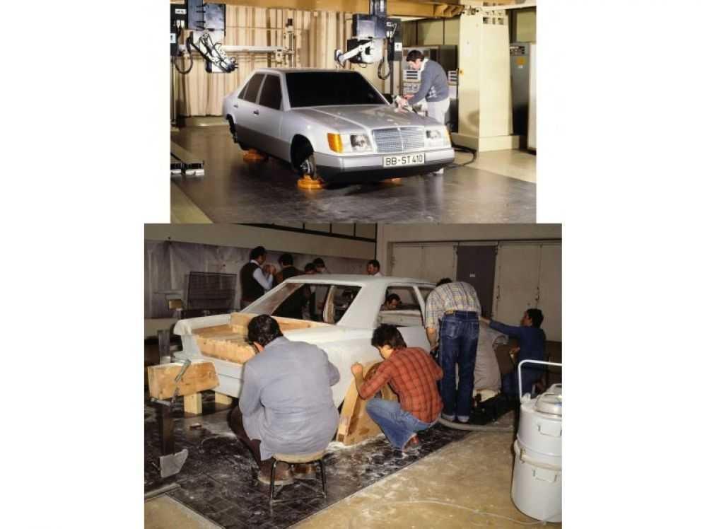 Des photos sympas d'époque sur la conception et le choix des matériaux chez MB 200818062613189433