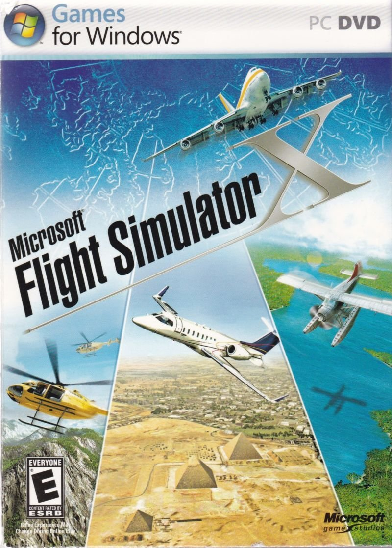 Poster for Microsoft Flight Simulator
