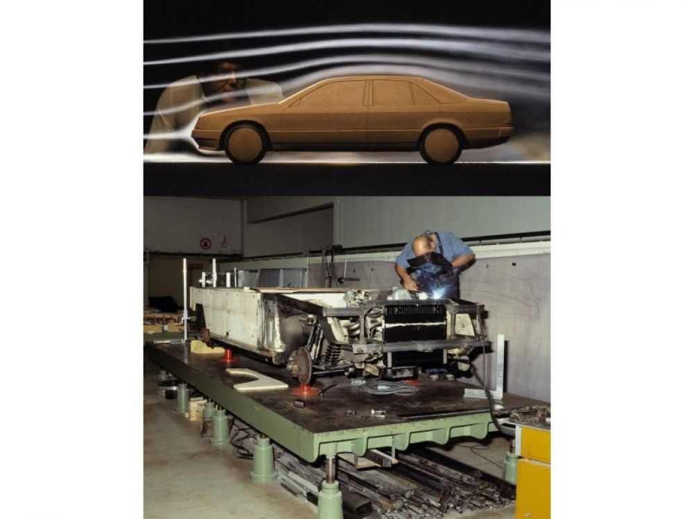 Des photos sympas d'époque sur la conception et le choix des matériaux chez MB 200818063751727169