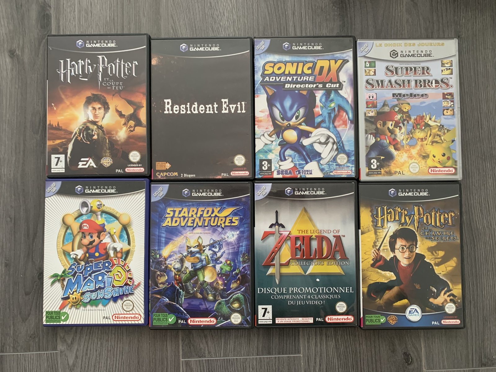 [VENDUE] Ma Collection complète de jeux GameCube en boite complète  200819053844570615