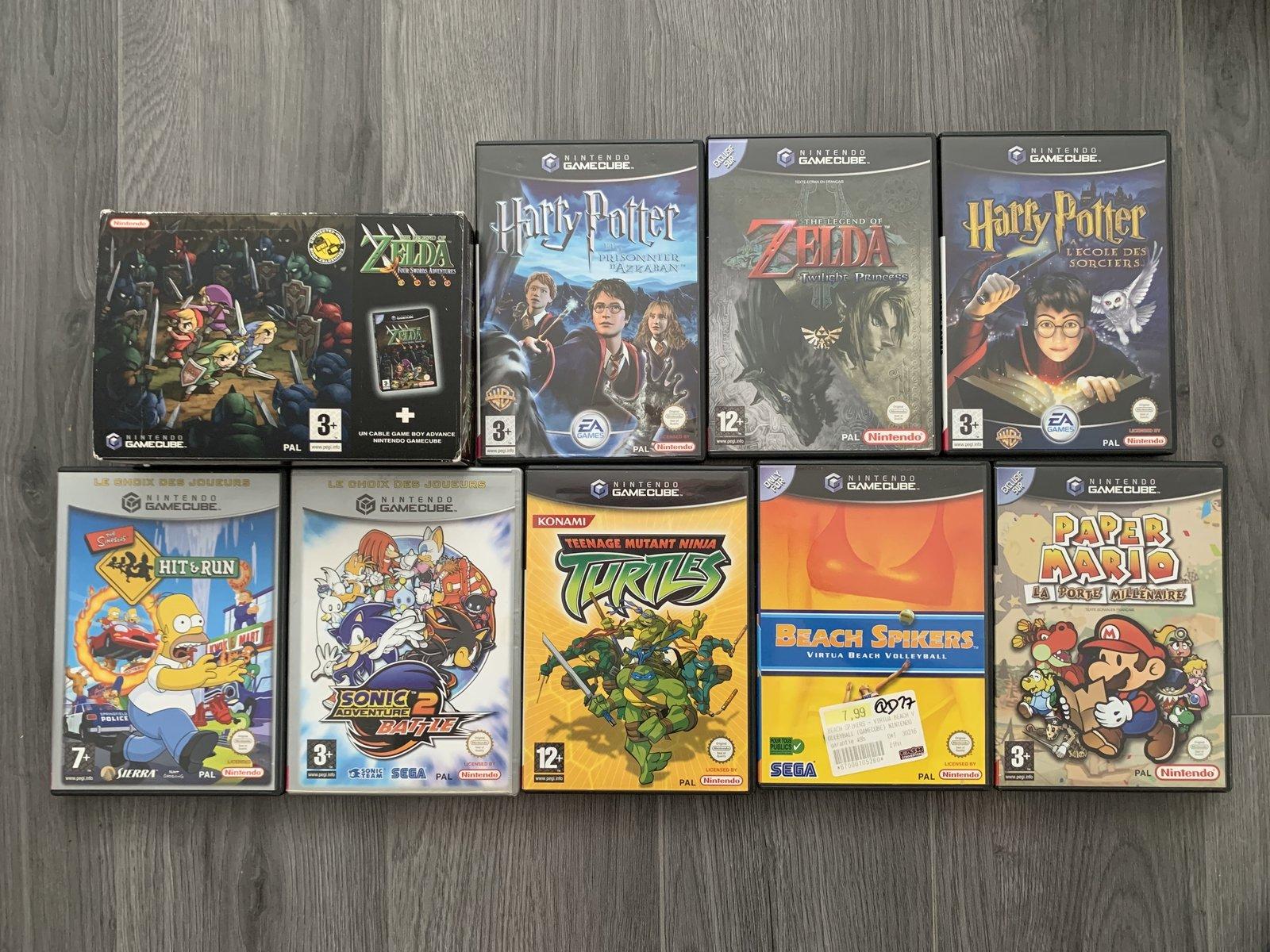 [VENDUE] Ma Collection complète de jeux GameCube en boite complète  200819053845765312