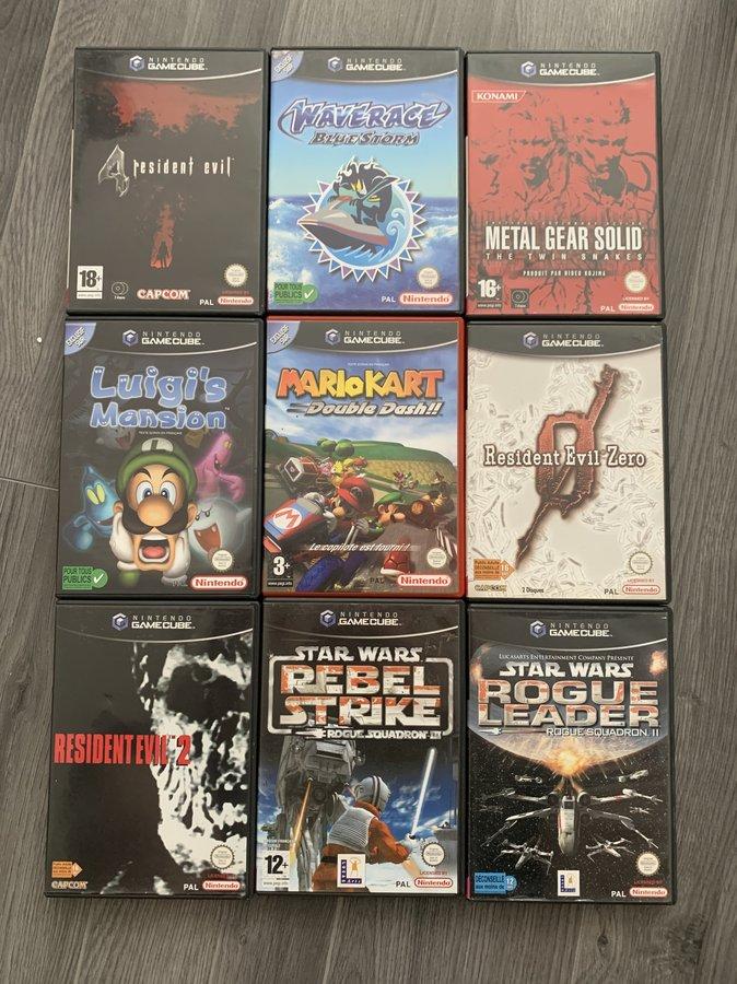 [VENDUE] Ma Collection complète de jeux GameCube en boite complète  200819053900252008