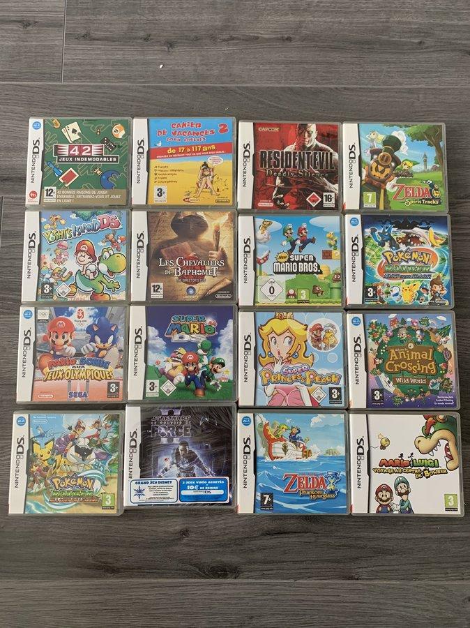 [VDS] Ma Collection complète de jeux DS en boite complète// Cassage du lot !! 200819055021494994