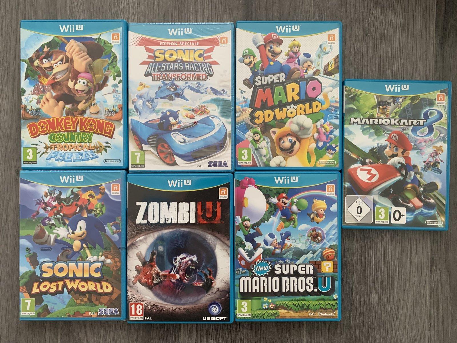 [VDS] Ma Collection complète de jeux WII U en boite complète// Cassage du lot!! 20081906050514682