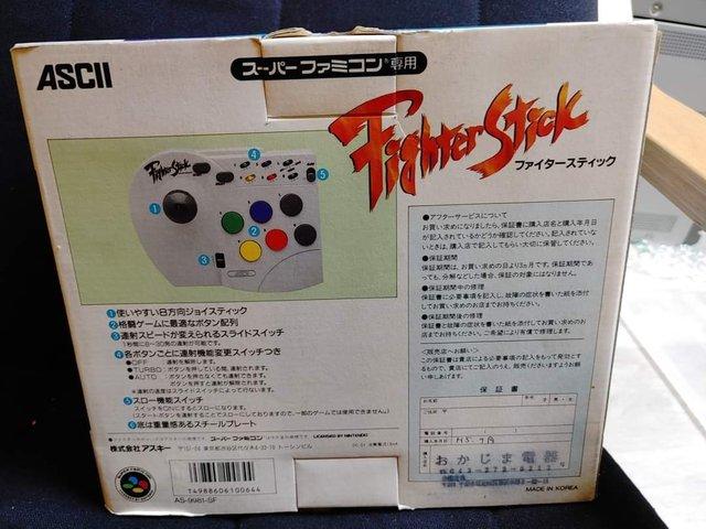 Stick arcade Playstation 2 et Super Nintendo/Famicom 200819073900956756