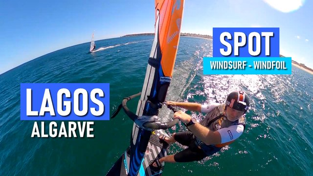 Lagos Algarve SPOT windsurf windfoil