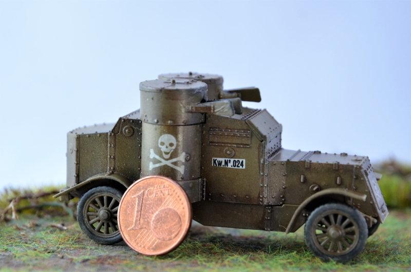 British Armoured Car - Austin MK III - Master Box - 1:72 200821063856978060