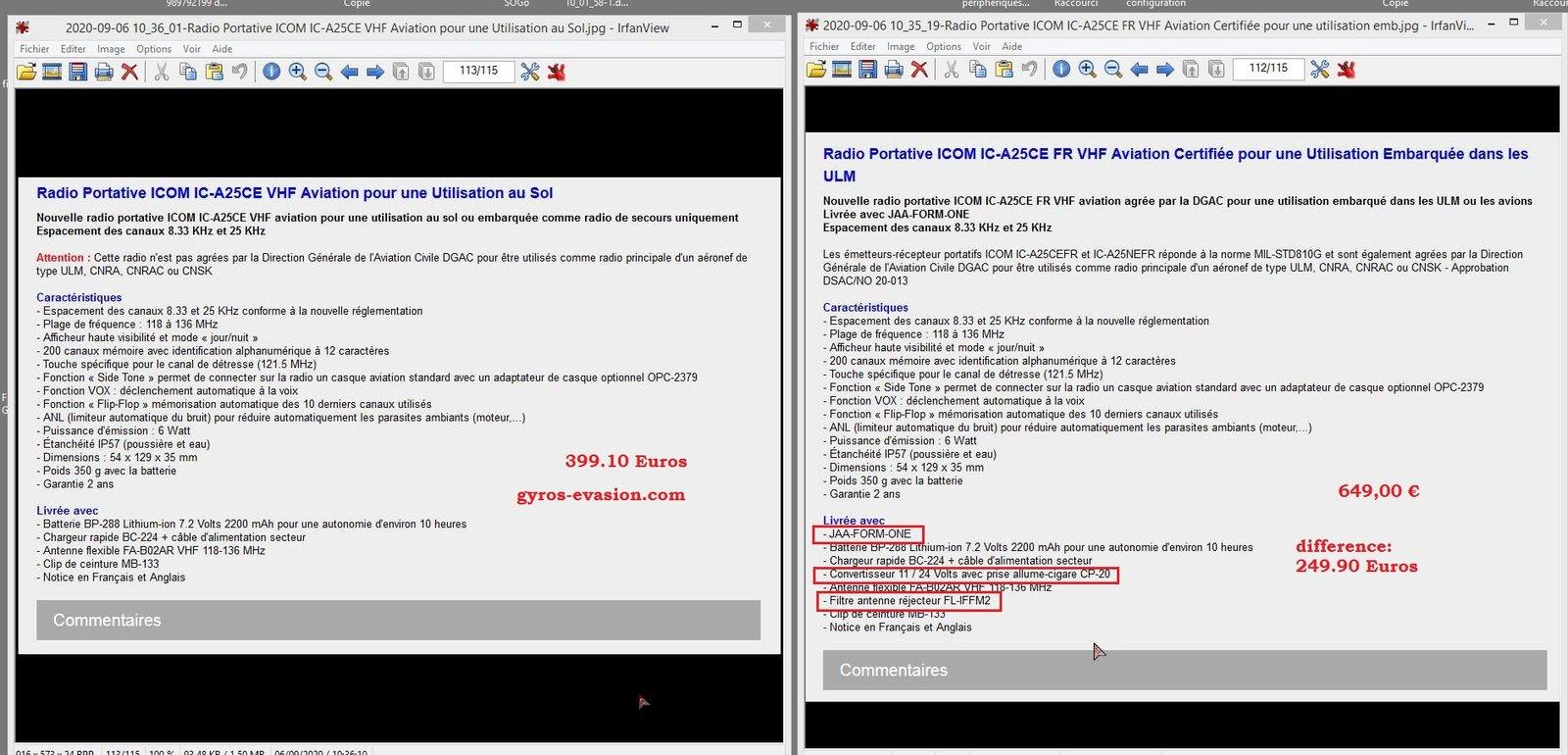 2020-09-06 10_45_24-2020-09-06 10_35_19-Radio Portative ICOM IC-A25CE FR VHF Aviation Certifiée pour