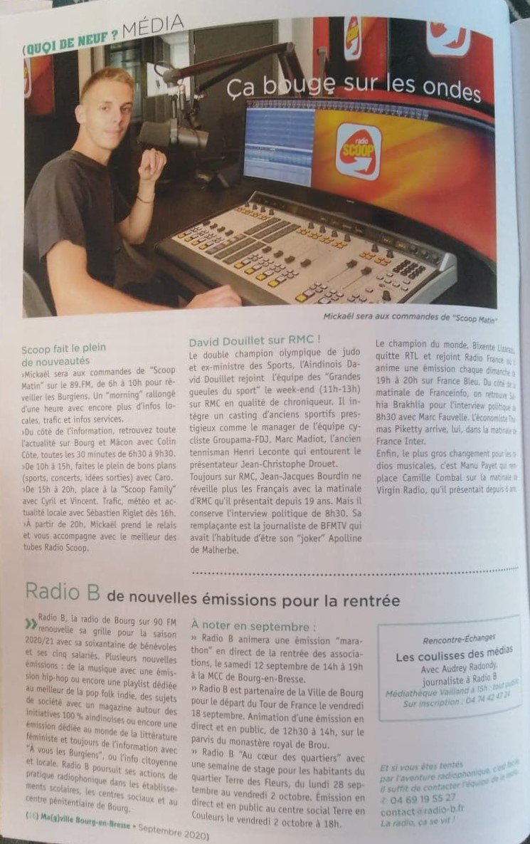 Radio Scoop - Radio B (Magzine)
