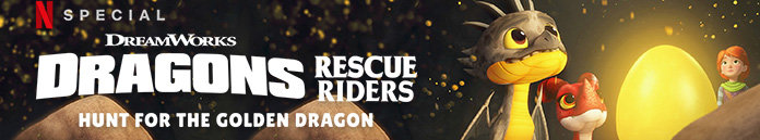 Poster for Dragons: Rescue Riders: Hunt for the Golden Dragon (2020)