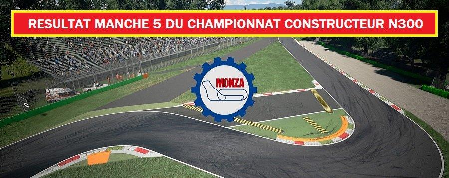 RESULTAT MANCHE 5 DU CHAMPIONNAT CONSTRUCTEUR N300 - 30/09/2020 201001070513276549