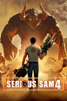 Poster for Serious Sam 4