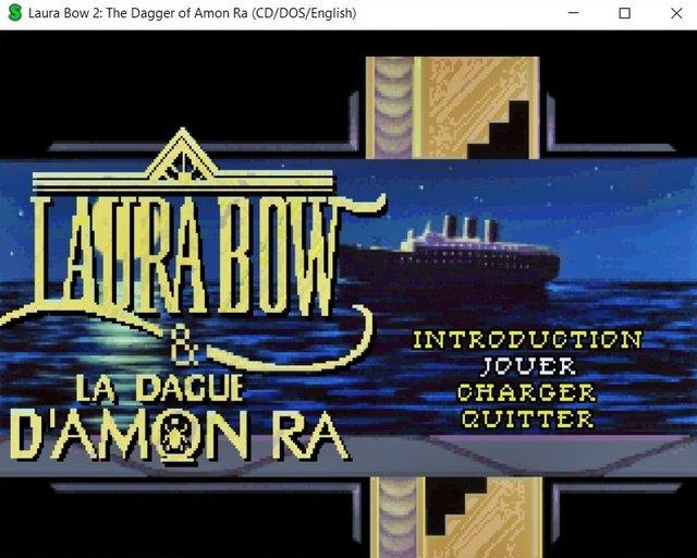 Laura Bow et la dague d'Amon Râ