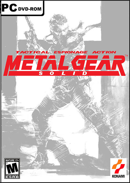Poster for Metal Gear Solid