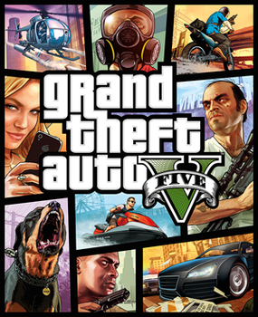 Poster for Grand Theft Auto V