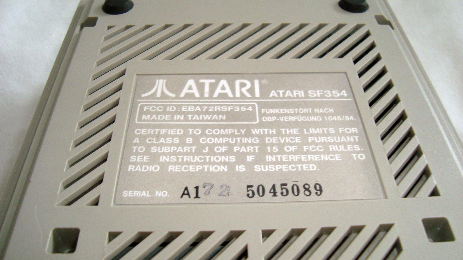 [TEST] Lecteurs disquettes externes SF354/SF314 - Atari ST 201007022338984832