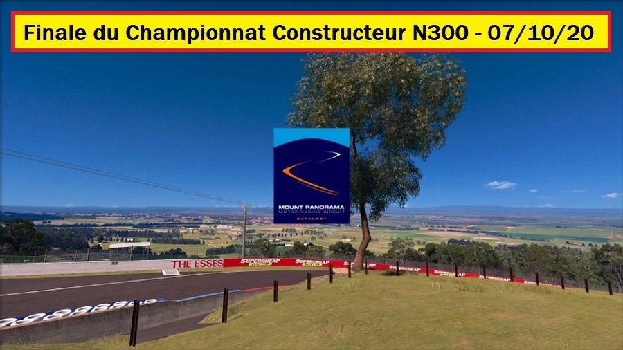 Résultats de la Finale du Championnat Constructeur N300 07/10/2020 201009024832132670