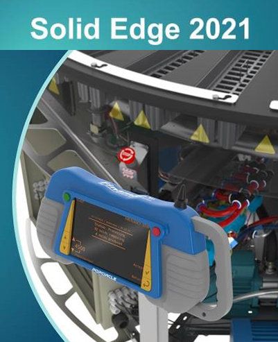 Poster for Siemend Solid Edge 2021