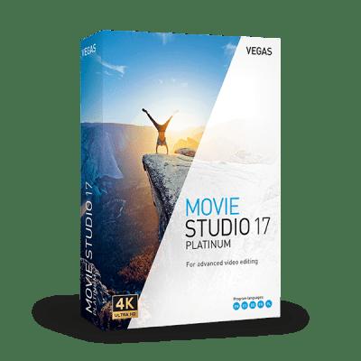 Poster for MAGIX VEGAS Movie Studio Platinum