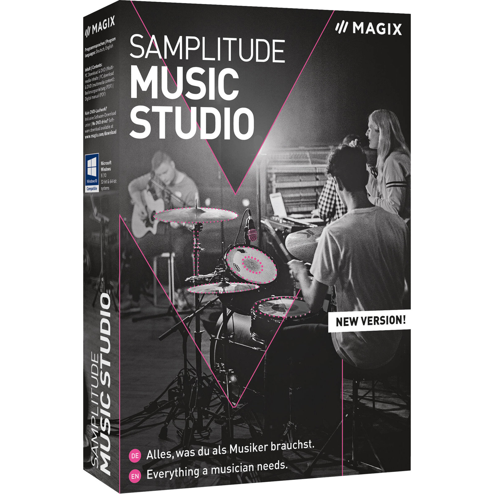 Poster for MAGIX Samplitude Music Studio