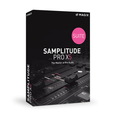Poster for MAGIX Samplitude Pro X5 Suite