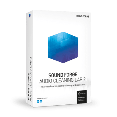 Poster for MAGIX SOUND FORGE Audio Cleaning Lab