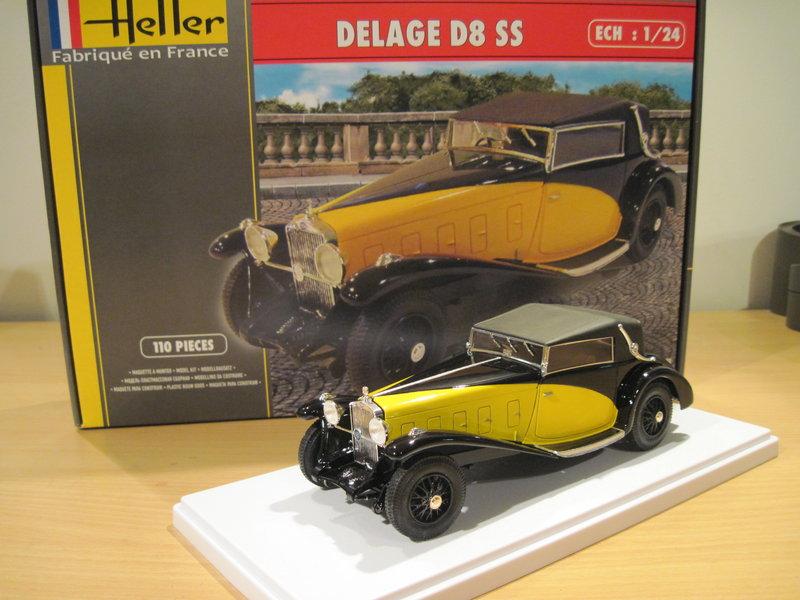 DELAGE D8 SS Heller 1/24 - Page 2 201012100524221834