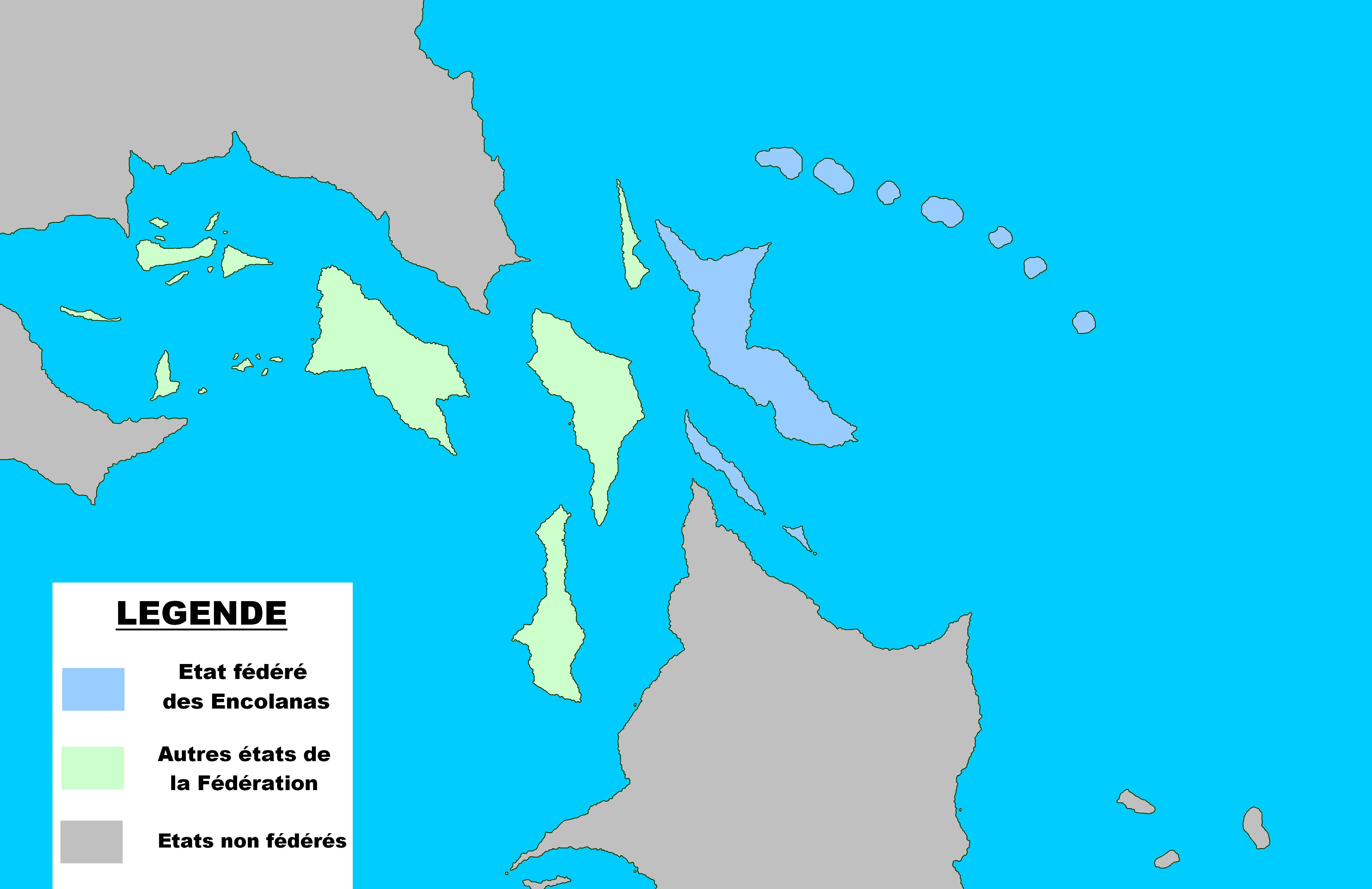 Localisation des Encolanas