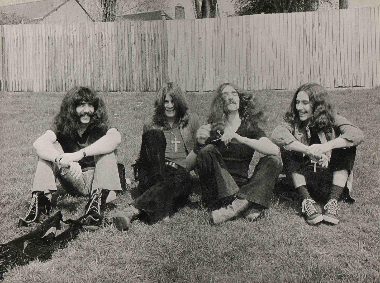 Black Sabbath d?buts photo du la bel