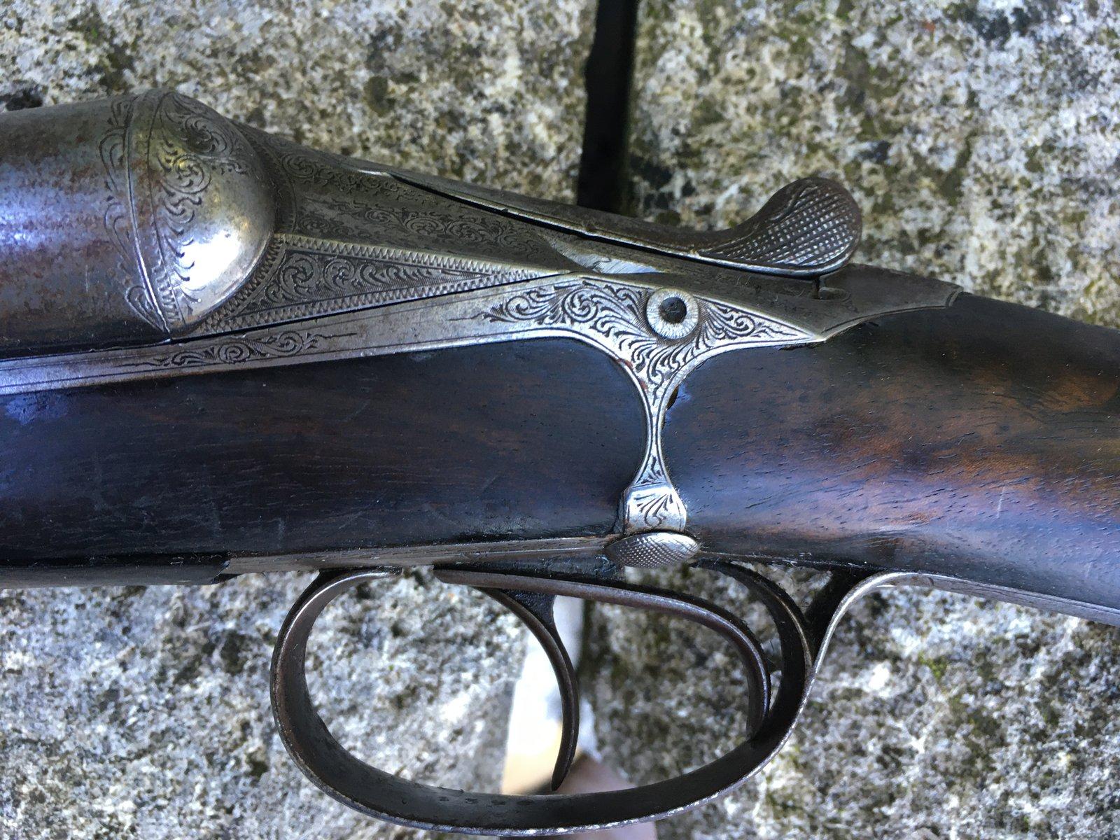 Fusil Darne Modèle 1891 à culasse ascendante Calibre 12/65 201014094237229256