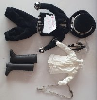[Vends] Outfit BLACK PEACE NOW,Pullip, Taeyang, MNF Mini_201016043042447349