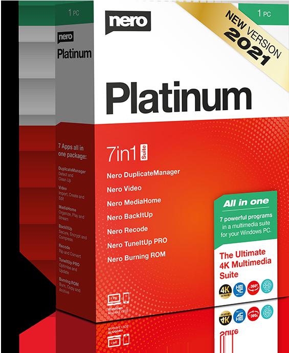 Poster for Nero Platinum Suite
