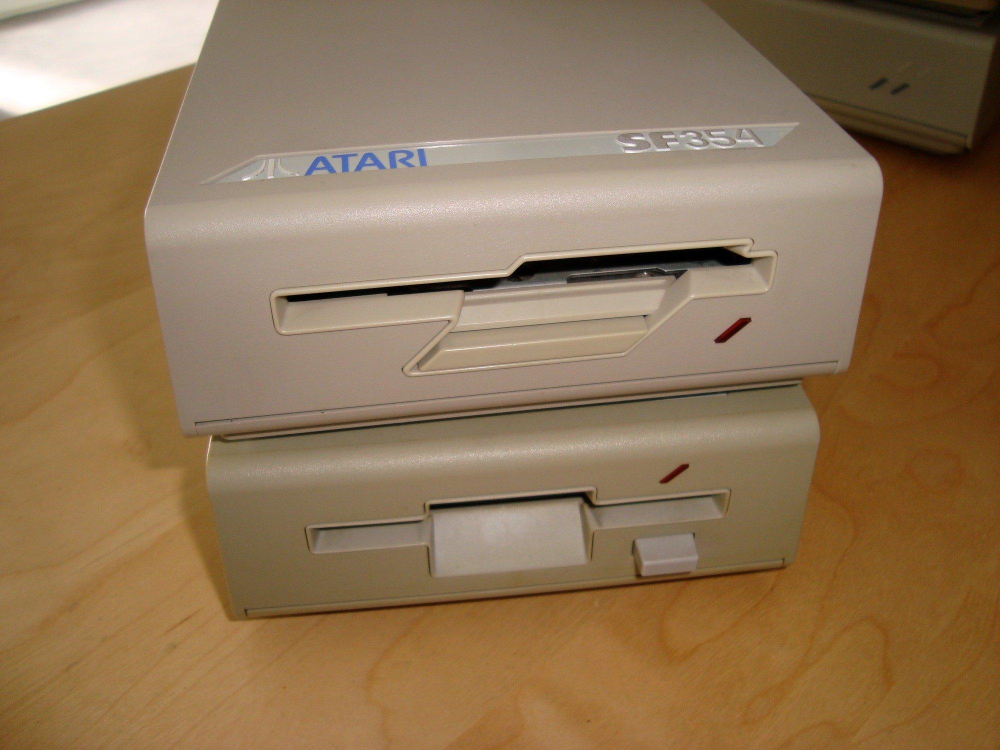 [TEST] Lecteurs disquettes externes SF354/SF314 - Atari ST 201019123922443803