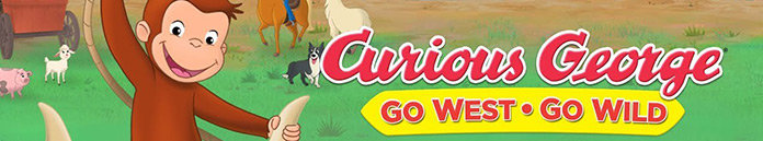 Poster for Curious George: Go West, Go Wild (2020)