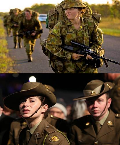 Soldats heenylthains tenues de combat + parade