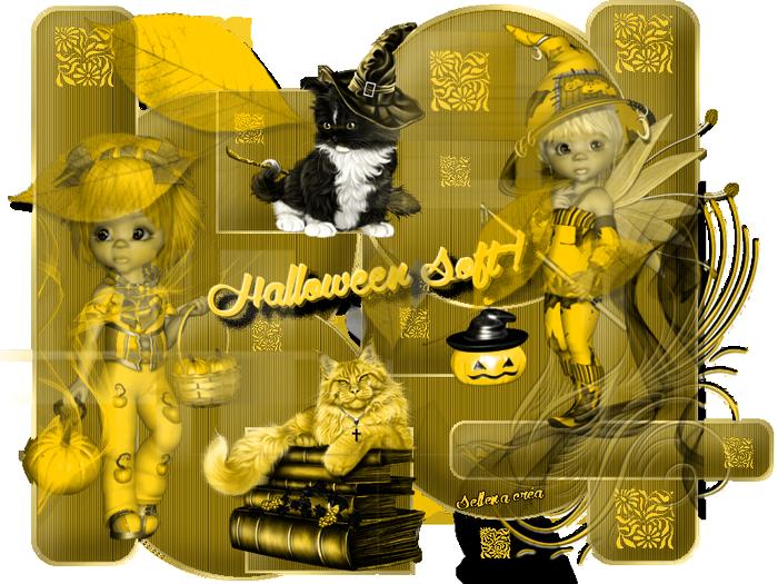 halloween soft jaune