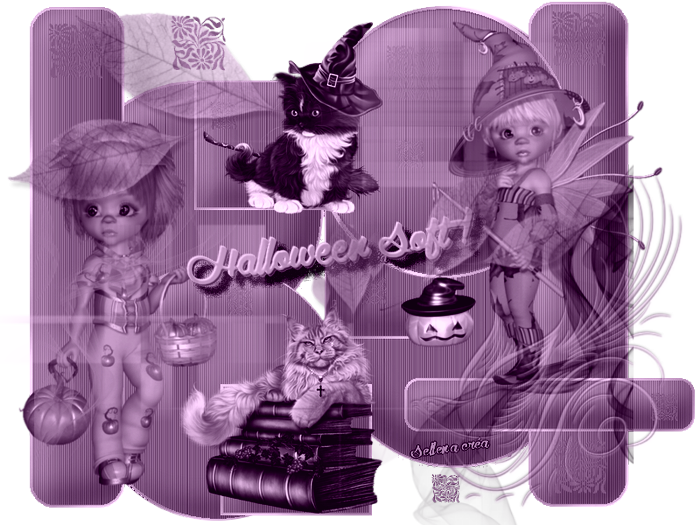 halloween soft violet