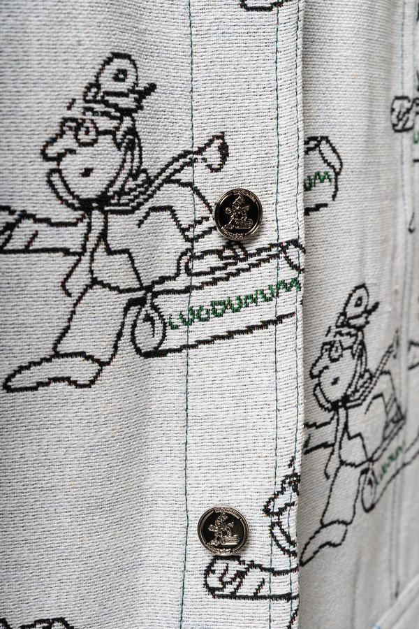 Boutons de la veste Docteur Jacquard