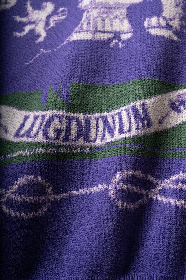 La maille du tricot St Jean produit dans l atelier de Quingdao