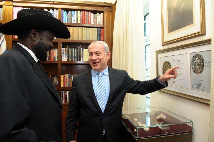 Israël-sud-sudan-visite-off