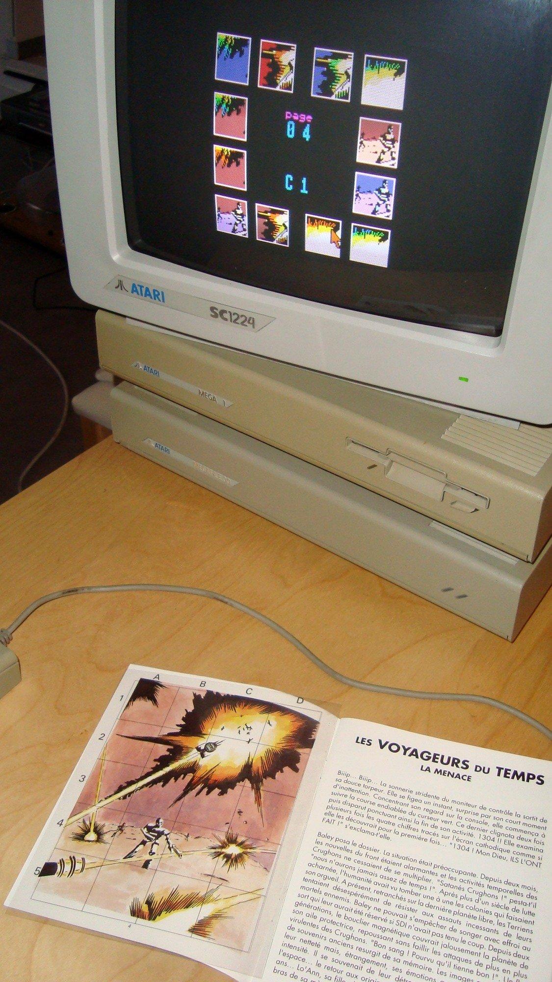 [TEST] Les Voyageurs du Temps - Atari ST 201027062252811202