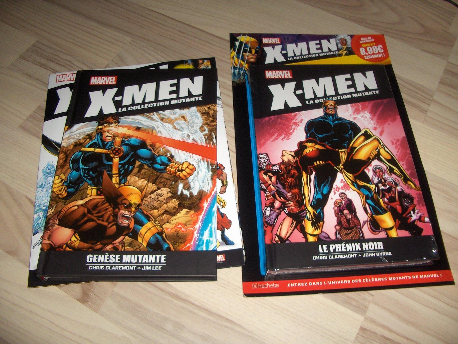 collection de comics x-men en kiosque ( hachette ) 201029034732657331