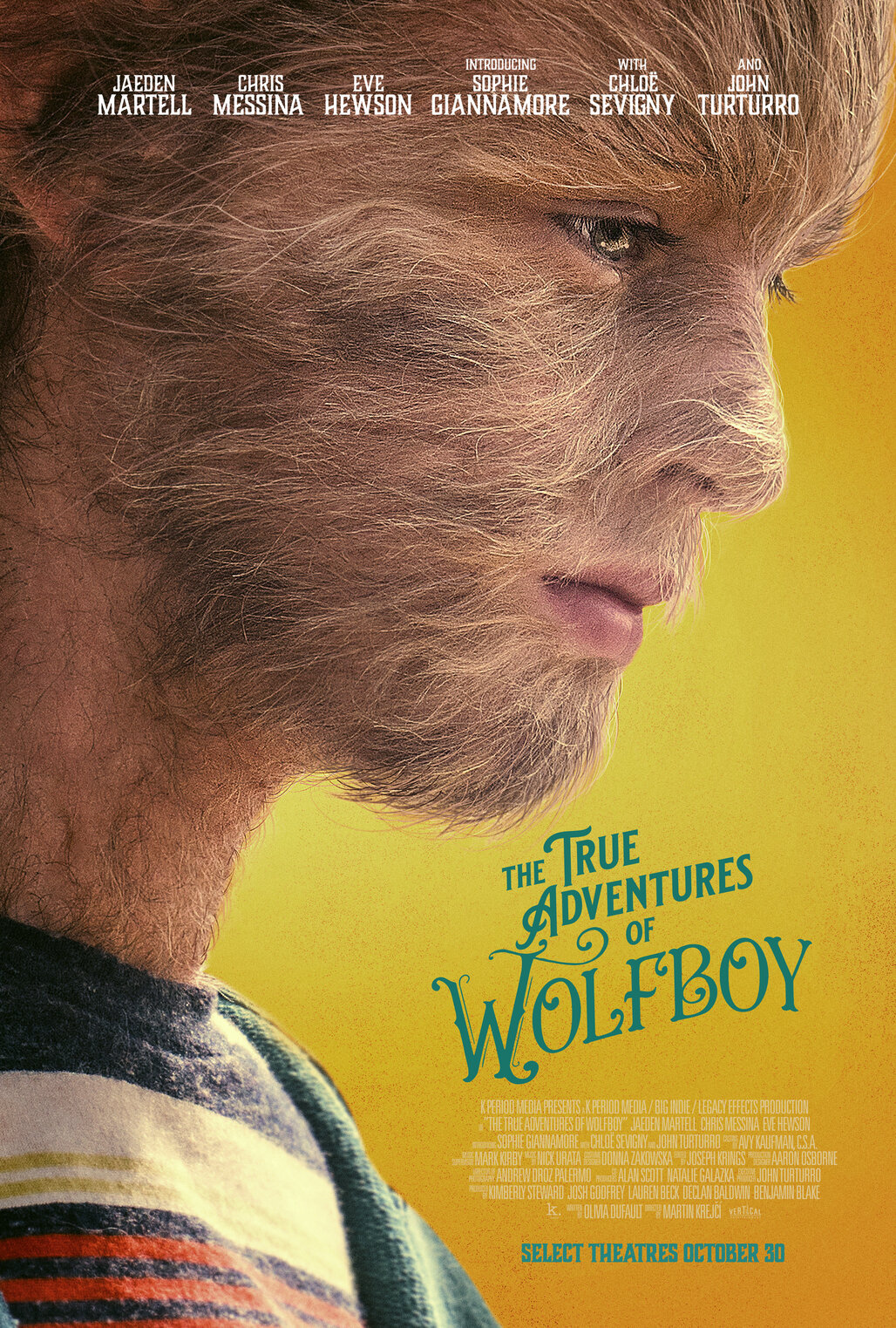 The True Adventures of Wolfboy (2020) poster image