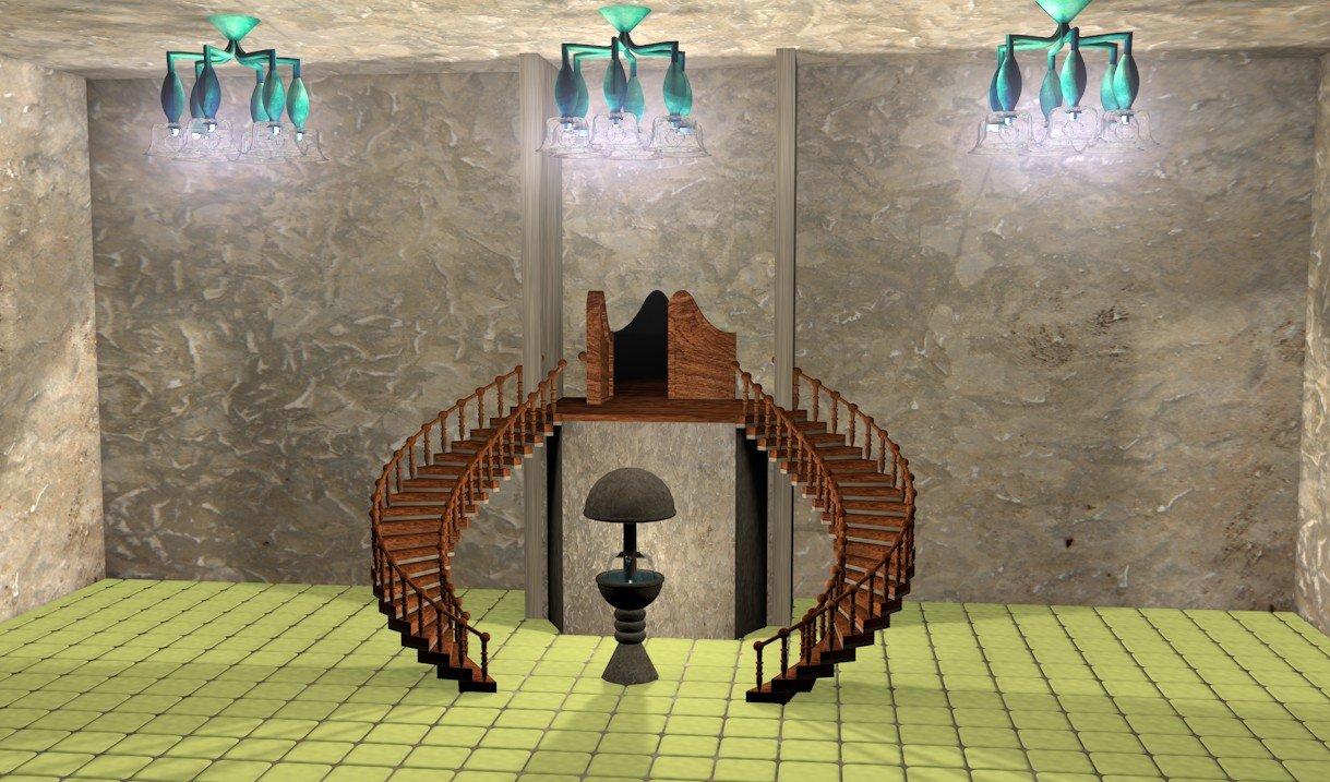 [ CINEMA4D ] Escalier en colimaçon  - Page 2 20103108442114906