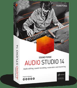 Poster for MAGIX SOUND FORGE Audio Studio