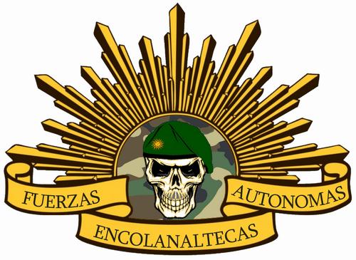 logo institutionnel des forces encolanaltèques autonomes